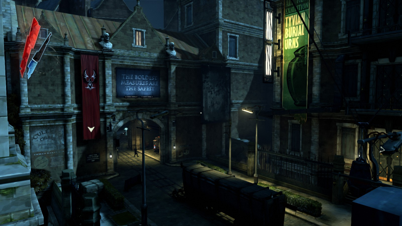 dishonored how to see ratings