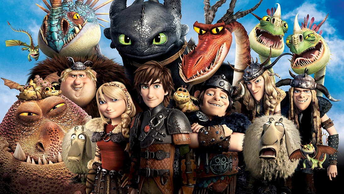 How to train your dragon 2 cast