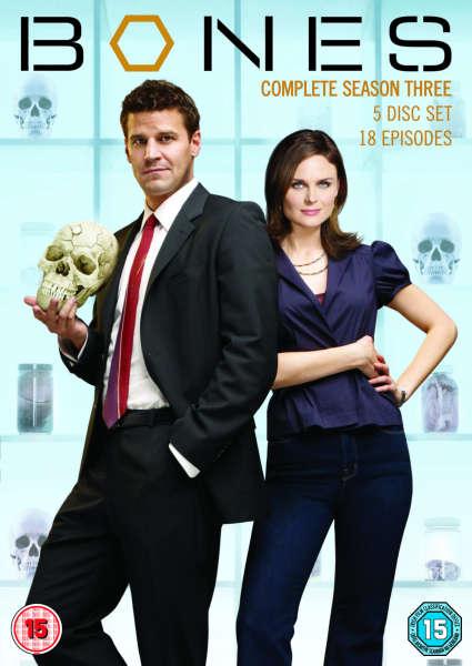 Bones Season 3 cover