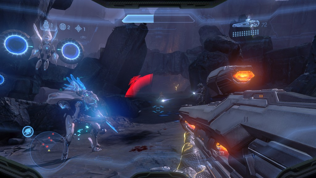 Halo 4 action